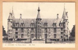 CPA Nevers, Le Palais Ducal, Gel. 1914 - Nevers
