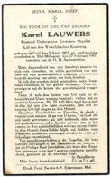 Dp. Onderwijzer. Lauwers Karel. ° Geel 1863 † Mol-Millegem 1941 - Religión & Esoterismo