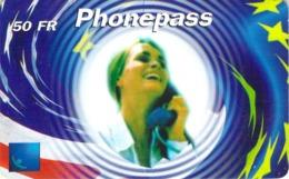 Carte Prépayée -  PHONE PASS -   50 FR - Frankrijk