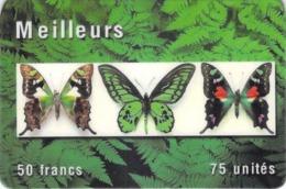 Carte Prépayée -  MEILLEURS -   50 FR - Andere Voorafbetaalde Kaarten