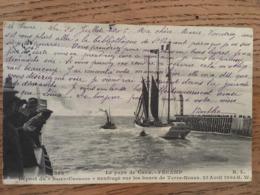 """CPA,le Pays De CAUX Fécamp, Départ Du """"St Georges"""" Naufragé Sur Les Bancs De Terre-Neuve, 23 Avril 1905, Bâteau - Fécamp"""