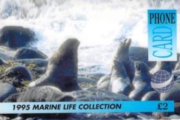 Carte Prépayée -  1995 MARINE LIFE COLLECTION - PHONE CARD - Andere Voorafbetaalde Kaarten