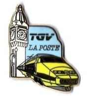 TGV POSTAL - T302 - LA POSTE - TOUR GARE P. LYON - Verso : BALLARD - TGV