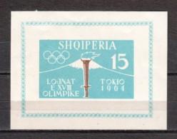 Albania 1962 Mi Block 8B MLH (*) - Albania