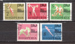 Albania 1963 Mi 763-767 Canceled SPORTS - Albania
