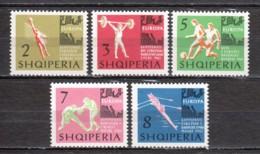 Albania 1963 Mi 763-767 MNH SPORTS - Albania