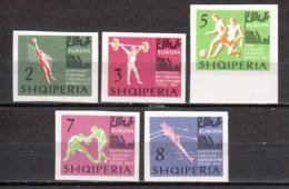Albania 1963 Mi 768-772 MNH SPORTS - Albania