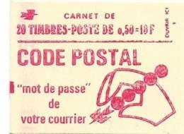 CARNET BEQUET  Carnet 20 Timbres à 0.50 F  Ref Yvert 1664C9 3 Bandes Phosphore  Neuf Non Ouvert  ...H - Carnets