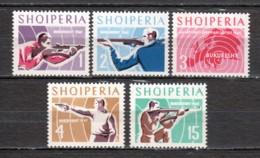 Albania 1965 Mi 934-938 MNH SPORTS - Albania