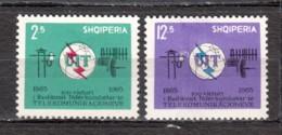 Albania 1965 Mi 939-940 MNH UIT - Albania