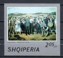 Albania 1974 Mi Block 53 MNH ART PAINTING - Albania