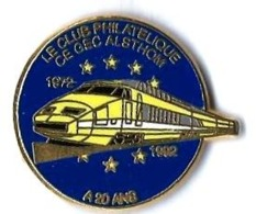 TGV POSTAL - T303 - CE GEC ALSTHOM - 1972-1982 - Verso : BALLARD - TGV