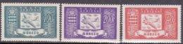 """1946-(MNH=**) Monaco Posta Aerea 3v.""""nuovo Tipo Aereo Al Centro""""cat.Filagrano Euro 9,5 - Unclassified"""