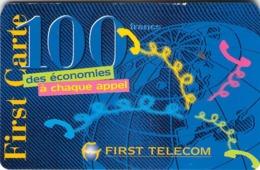 Carte Prépayée -  FIRST TELECOM -  100 FRANCS - Frankrijk