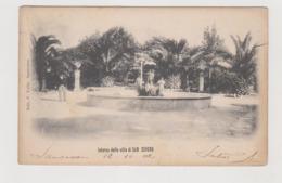 San Severo (FG) Interno Della Villa  - F.p. - Anni '1900 - San Severo