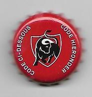 10/7 - BELGIQUE / CAPSULE BIERE JUPILER CODE CI - DESSOUS - Beer