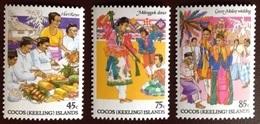 Cocos Keeling 1984 Cocos-Malay Culture MNH - Isole Cocos (Keeling)