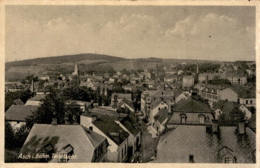 Asch I. Böhmen, Teilansicht (8) * Karte Von 1934 - Czech Republic