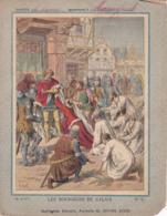 """Ce Ci N Est Pas Un Protège Cahier Mais Une Couverture De Cahier D'écolier (18x22) 4 Pages """"Bourgeois De Calais"""" Histoire - Book Covers"""