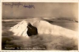 Riesengebirge - Der Brunnberg über Dem Wolkenmeer (691) * Feldpost 21. 3. 1940 - Tchéquie