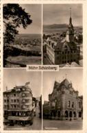 Mähr. Schönberg - 4 Bilder * Feldpost 12. 1. 1942 - Tchéquie
