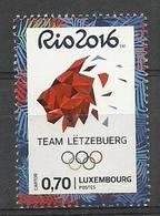 Luxembourg 2016 Mi 2088 MNH ( ZE3 LXB2088davIO16 ) - Summer 2016: Rio De Janeiro