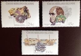 Cocos Keeling 1981 Charles Darwin MNH - Isole Cocos (Keeling)