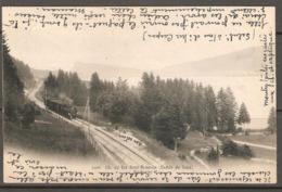 Carte P De 1906 ( Le Brassus / Chemin De Fer ) - VD Vaud