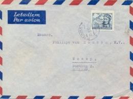 Czechoslovakia 1947 Airmail Cover To Netherlands With 5,50 Kcs. Novak - Posta Aerea