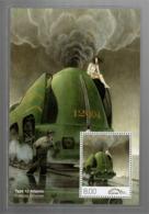 België/Belgique 2012 B-Holding Type 12 Atlantic [La Douce] (François Schuiten) - Railway