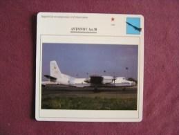 ANTONOV AN-30    FICHE AVION Avec Description  Aircraft Aviation - Vliegtuigen