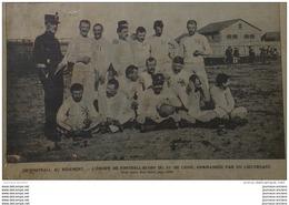 1901 RUGBY MILITAIRE - CARICATURE CHARLEMONT Par EMILE COHL - SOCIETE DE SPORT DE COMPIEGNE - COURSE AUTOMOBILE - MEULAN - Periódicos