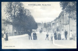 Cpa Du 52  Montier En Der Rue Des Ponts  LZ73 - Montier-en-Der