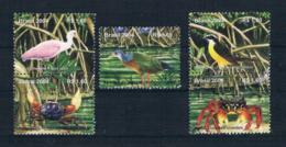 Brasilien 2004 Tiere 5 Werte Ungestempelt (oG) - Brazil