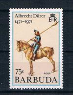 Barbuda 1991 Dürer Mi.Nr. IV ** - Antigua Und Barbuda (1981-...)