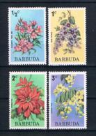 Barbuda 1994 Blumen Mi.Nr. 185-88 ** - Antigua Und Barbuda (1981-...)