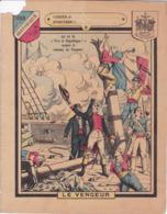 """Ce Ci N Est Pas Un Protège Cahier Mais Une Couverture De Cahier D'écolier (18x22) 4 Pages """"Le Vengeur """" Historique - Book Covers"""