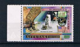 Aitutaki 1989 Raumfahrt Mi.Nr. 655 ** - Aitutaki