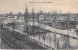 94 - CRETEIL - ST MAUR  ( Inondations 1910 ) Une Vue à Identifier ... CPA - Val De Marne - Creteil