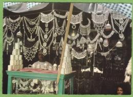 Rare CPSM AFGHANISTAN KABUL Silberschmuck Ausstellung Artisan Métier Bijoutier Bijou Argent Animé - Afghanistan