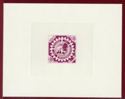 Monaco 440 Rotary Epreuve D'artiste. Artist Die Proof. 1955 - Rotary, Lions Club