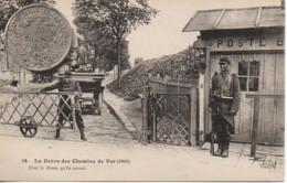 La Grève Des Chemins De Fer (1910) N°18 - Labor Unions