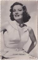 Pf. Gene TIERNEY. Photo Paramount. 402 (2) - Artistes