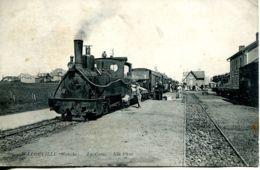 N°77619 -cpa Jullouville -la Gare- - France