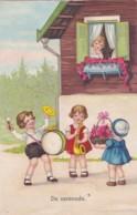 CPA -  ILLUSTRATEUR -De Serenade. Enfants Jouant De La Musique - (lot Pat 83) N - Ilustradores & Fotógrafos