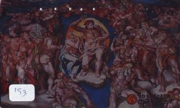 Télécarte Japon * PEINTURE * ICON * La RELIGION * ART (153) Japan * Phonecard * KUNST TELEFONKARTE - Pintura