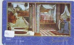 Télécarte Japon * PEINTURE * ICON * La RELIGION * ART (161) Japan * Phonecard * KUNST TELEFONKARTE - Pintura