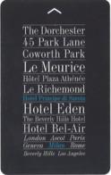 ITALIA  KEY HOTEL  Hotel Principe Di Savoia - Hotel Keycards