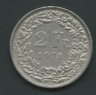 2 Francs Helvetia (SUISSE) Debout , Graveur : Antoine Bovy - Laupi 11004 - Schweiz