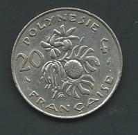 POLYNESIE FRANCAISE - 20 F 1975   - Laupi 11009 - French Polynesia
